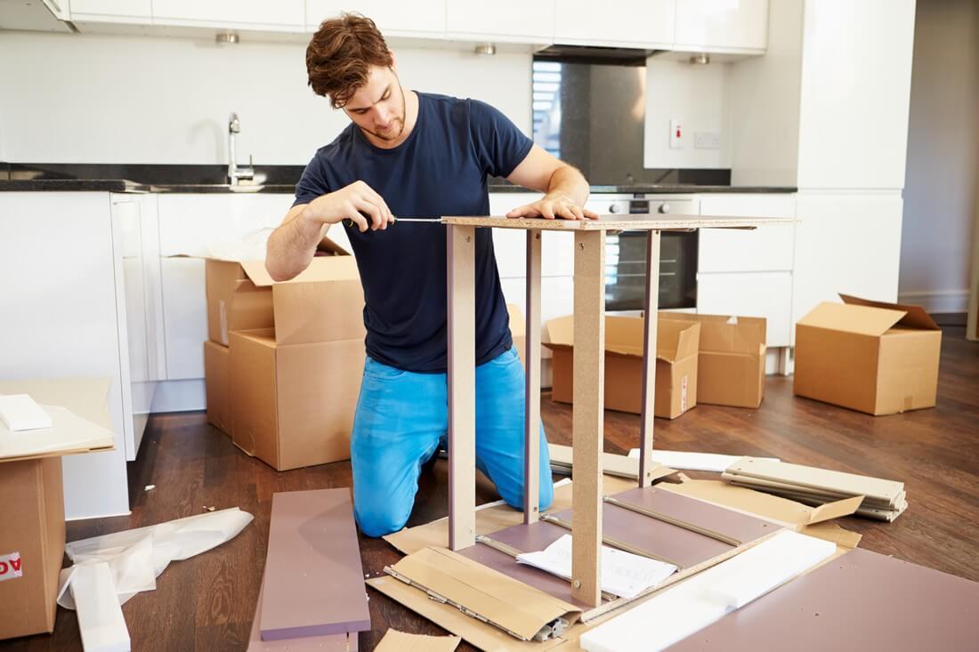Le démontage des meubles est-il obligatoire ?