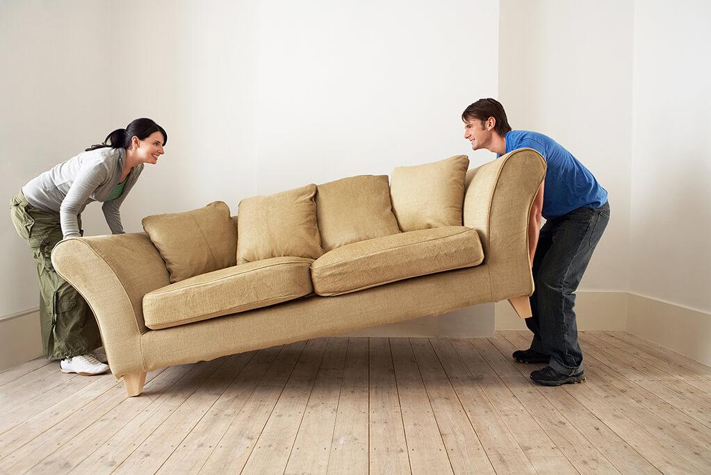 Transport et déménagement de canapés sans stress !