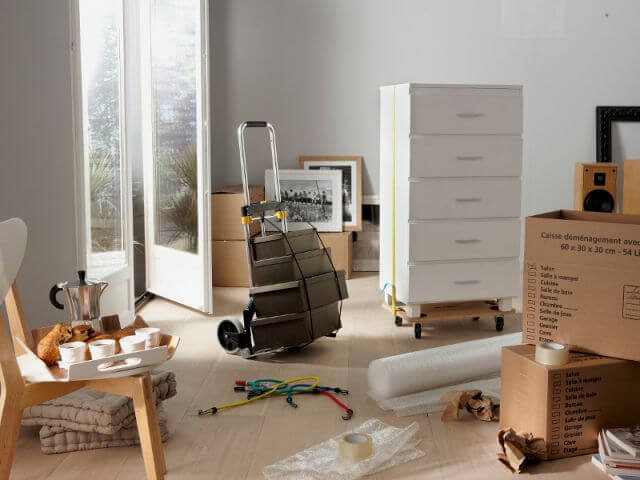 Comment transporter une commode