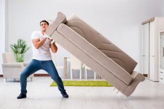 Comment déménager de gros meubles ?